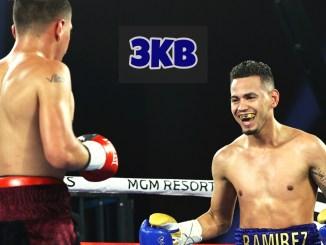 Robeisy Ramirez taunts Adan Gonzalez
