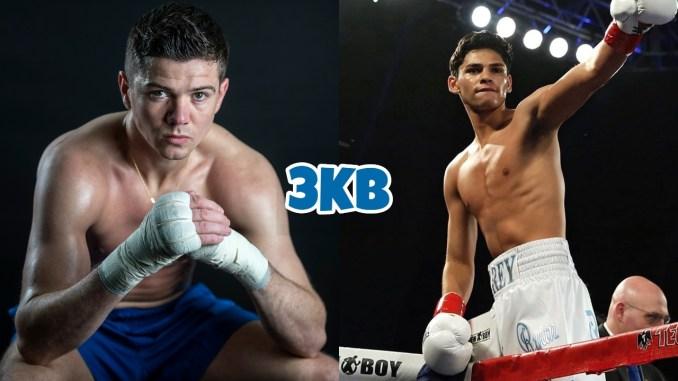Luke Campbell (left), Ryan Garcia