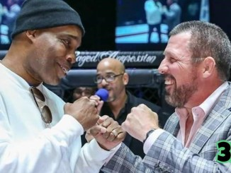 Michael Nunn and Pat Miletich face off