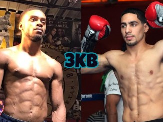 Errol Spence Jr (left), Danny Garcia