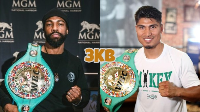 Gary Russell Jr and Mikey Garcia