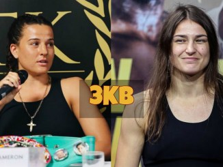 Chantelle Cameron challenges Katie Taylor