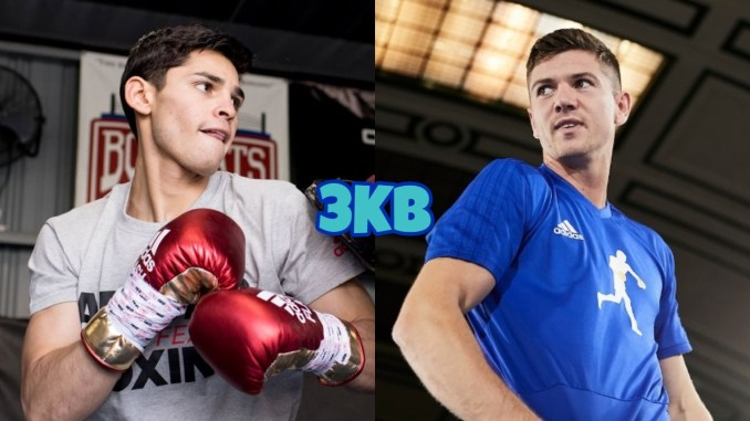 Ryan Garcia (left), Luke Campbell