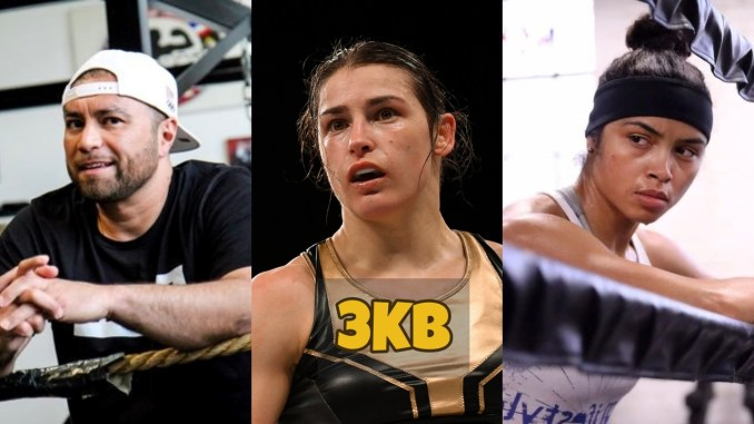 Ricka Ramos, Katie Taylor and Jessica McCaskill