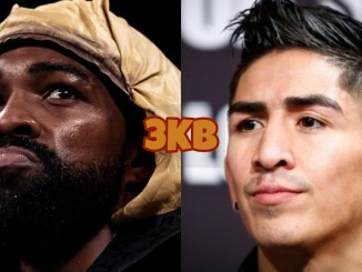 Gary Russell Jr (left), Leo Santa Cruz