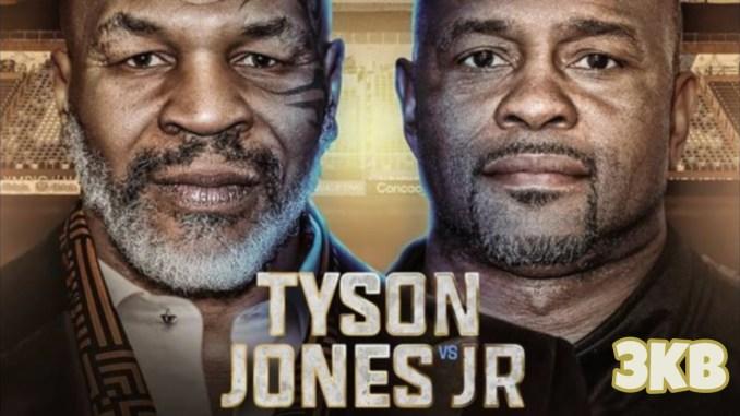 Mike Tyson v Roy Jones Jr promo