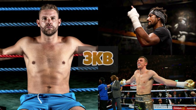 Billy Joe Saunders, Demetrius Andrade and Callum Smith