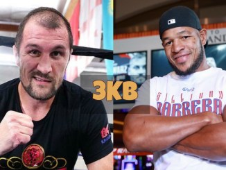 Sergey Kovalev and Sullivan Barrera