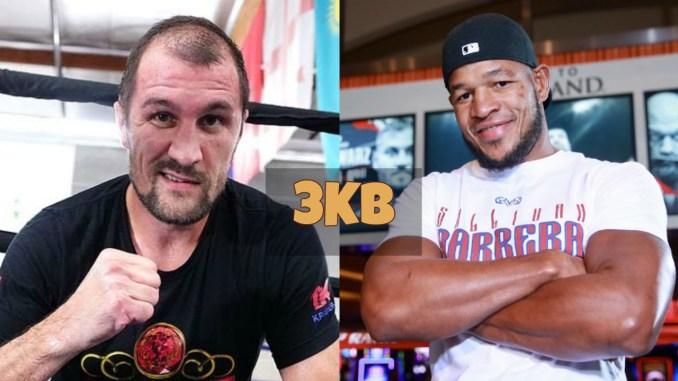 Sergey Kovalev and Sullivan Barrera