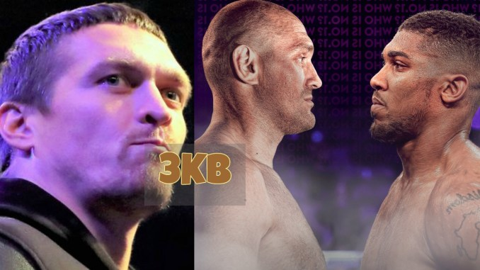 Oleksandr Usyk admires Anthony Joshua vs Tyson Fury matchup