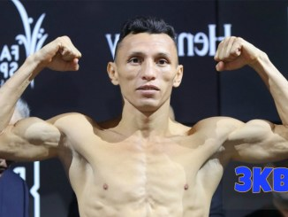 Felix Alvarado makes weight.