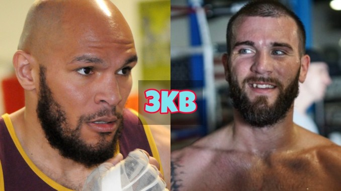 Caleb Truax warns Caleb Plant not to look passed him.