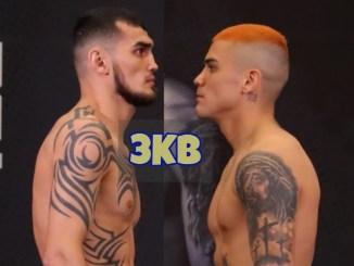 Joseph Diaz Jr & Shavkatzhon Rakhimov face off