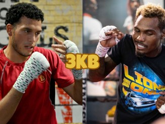 David Benavidez (left), Jermall Charlo