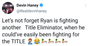 Devin Haney dunks on Ryan Garcia for missing a title shot