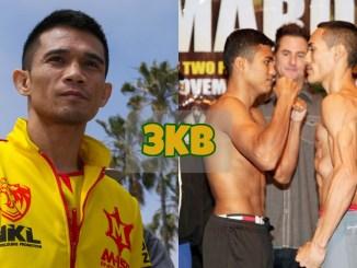 Srisaket Sor Rungvisai stares into the distance; Roman Gonzalez and Juan Francisco Estrada face-off prior to rematch