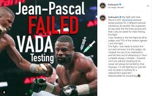 Badou Jack announces his fight with Jean Pascal is off
