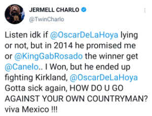 Jermell Charlo says Golden Boy robbed him of a fight with Canelo Alvarez in 2014
