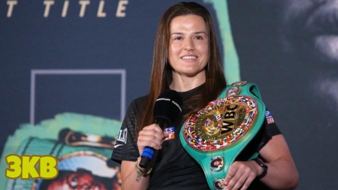 WBC Junior Welterweight champion Chantelle Cameron