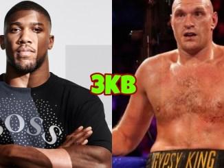 Unified heavyweight champion Anthony Joshua, WBC Heavyweight champion Tyson Fury