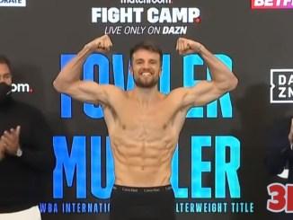 WBA International super welterweight champion Anthony Fowler