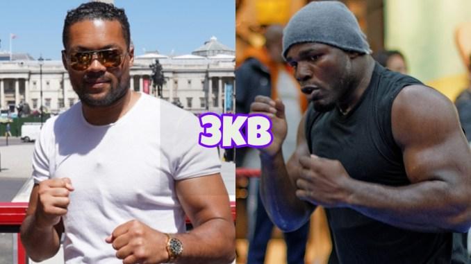Heavyweight fighters Joe Joyce and Carlos Takam