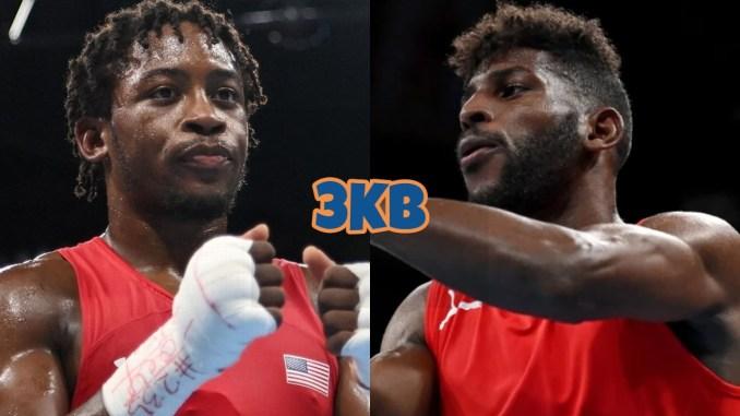 Olympic gold medal hopefuls Keyshawn Davis and Andy Cruz