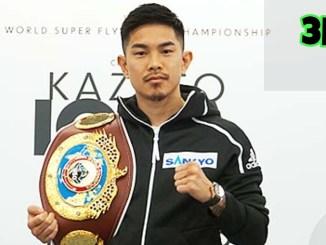 WBO world junior bantamweight champion Kazuto Ioka