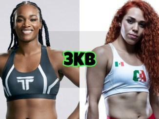 Undisputed super welterweight champion Claressa Shields, Abigail Montes