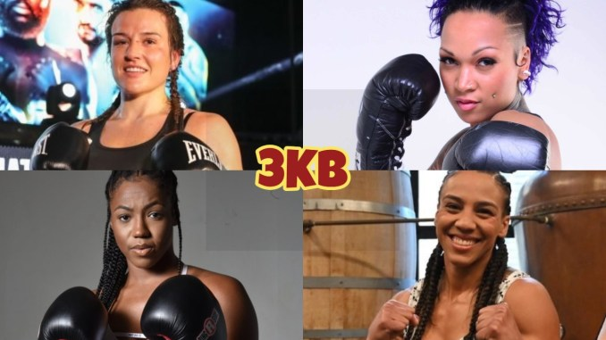 Chantelle Cameron, Kali Reis, Jessica Camara, Mary McGee: participants in tournament to crown an undisputed junior welterweight champion