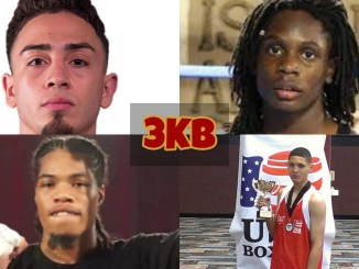 Collage of headshots featuring Jose Valenzuela, Rajon Chance, Maliek Mongomery and Suray Mahmutovic.