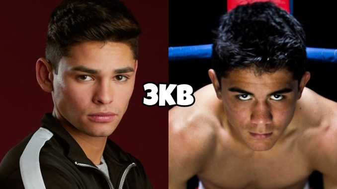 Lightweight boxers Ryan Garcia and Joseph Diaz
