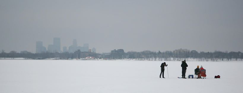 Ironic Pictures Ice Fishing