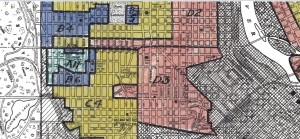 Map Monday  HOLC Redlining Map of Minneapolis   streets mn minneapolis redlining map