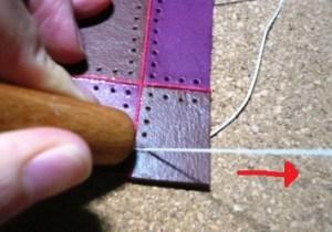 縫い始め3