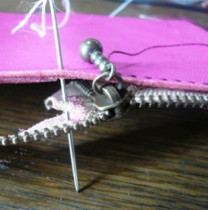 しつけ縫い