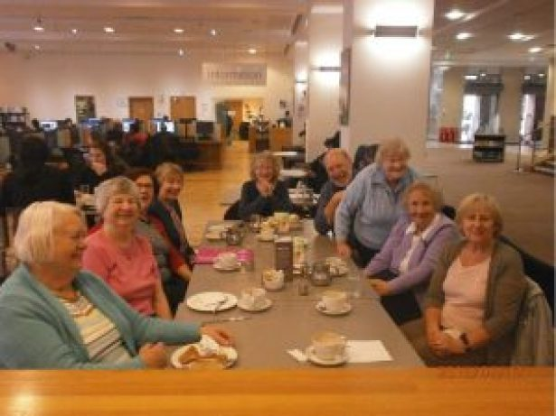 Genealogy Club Members visit the Mitchell Library August 2016