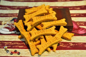 Wheat Free Tuna Dog Treats