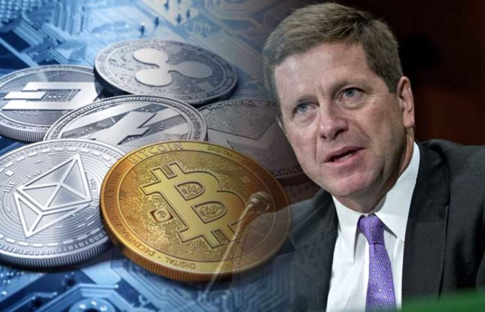 Jay Clayton Optimistic About Blockchain and Cryptocurrencies' Emerging Investment Landscape