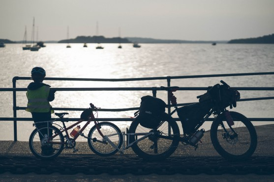 family bicycle tour purbeck dorset