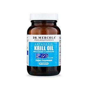 Dr. Mercola All Natural Non-GMO Antarctic Krill Oil - FREE SHIPPING with AMAZON PRIME