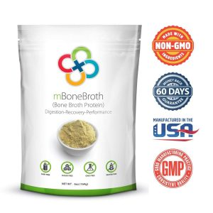 Crucial Four All Natural Non-GMO Premium Bone Broth Protein Powder - FREE SHIPPING with AMAZON PRIME