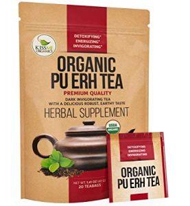 Kiss Me Organic Fermented Pu erh Tea - FREE SHIPPING with AMAZON PRIME