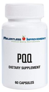 Relentless Improvement All-Natural Non-GMO PQQ (20 mg) - FREE SHIPPING with AMAZON PRIME