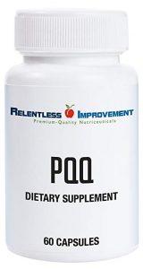 Relentless Improvement All-Natural Non-GMO PQQ (20 mg) - FREE SHIPPING with AMAZON PRIME