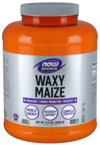 NOW Sports All Natural Non-GMO Waxy Maize Powder - FREE SHIPPING with AMAZON PRIME