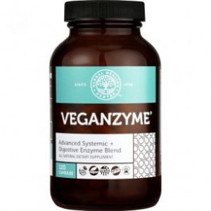 GHC All-Natural Non-GMO VeganZyme: Digestive & Systemic Enzymes for Healthy Digestion - FREE SHIPPING