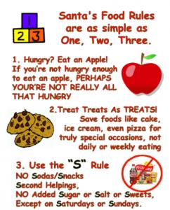 Getting Kids Eating Healthy Real Foods Alongside Sustainable Santa®