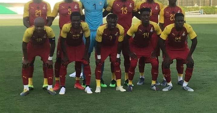 Ghana's starting XI for the friendly on Saturday, June 15