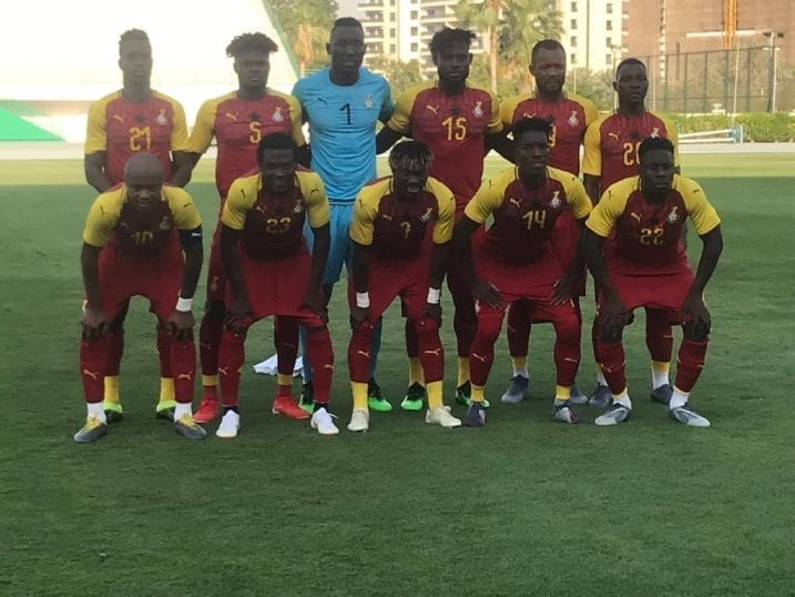 Black Stars held 0-0 by South Africa